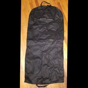 Bergdorf Goodman black breathable garment bag